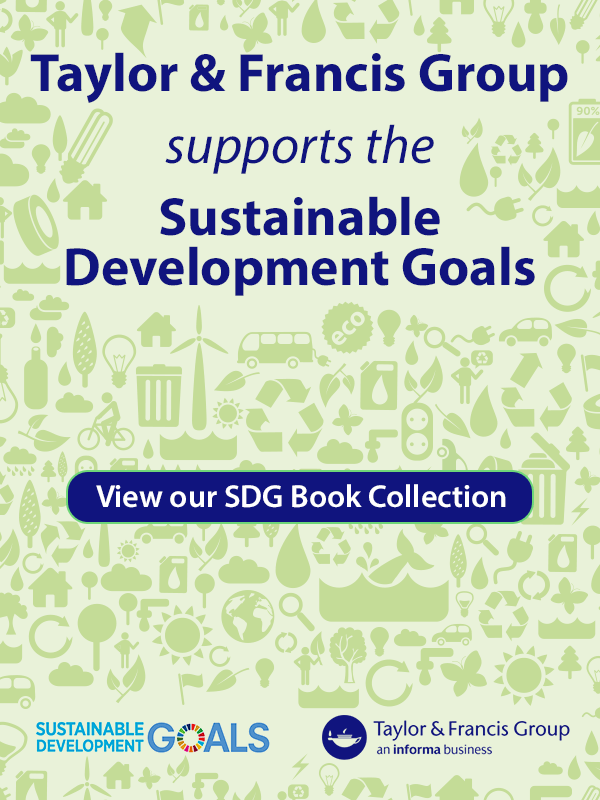 Taylor & Francis Group supports the Sustainable Development Goals
