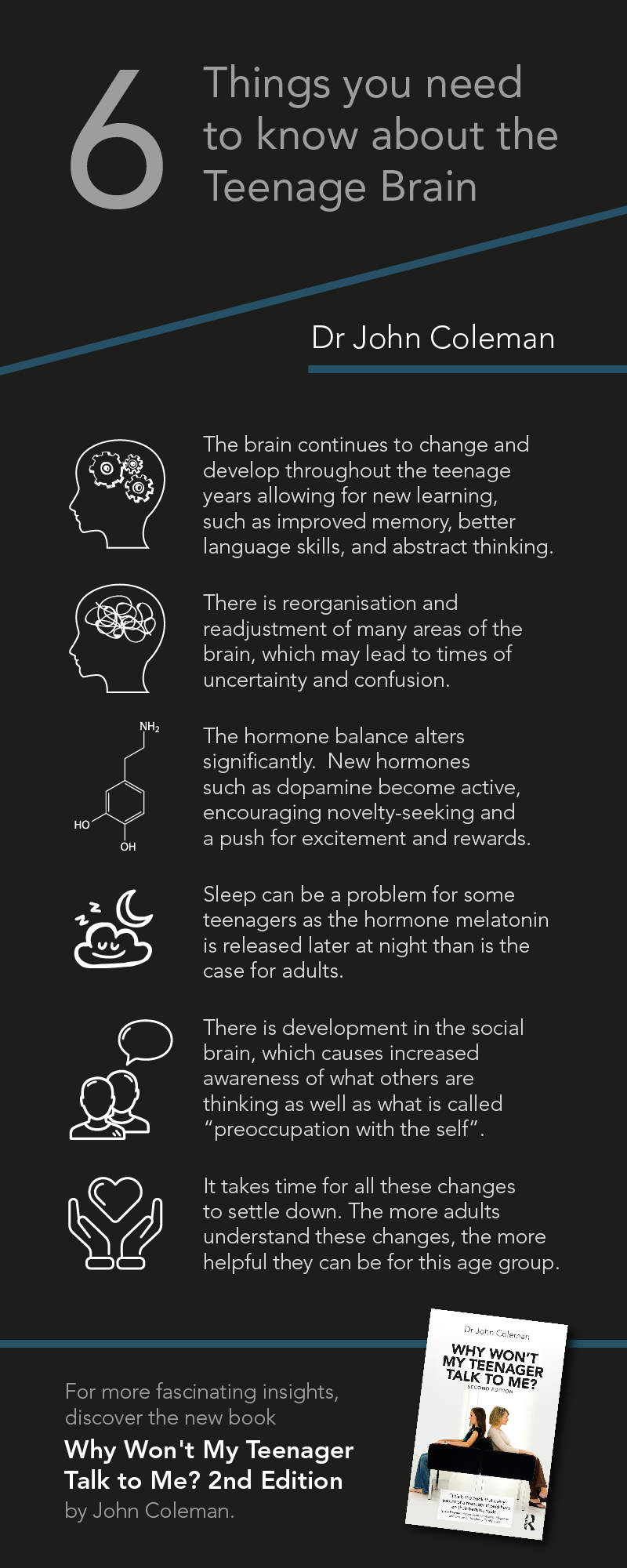 Teenage Brain Infographic