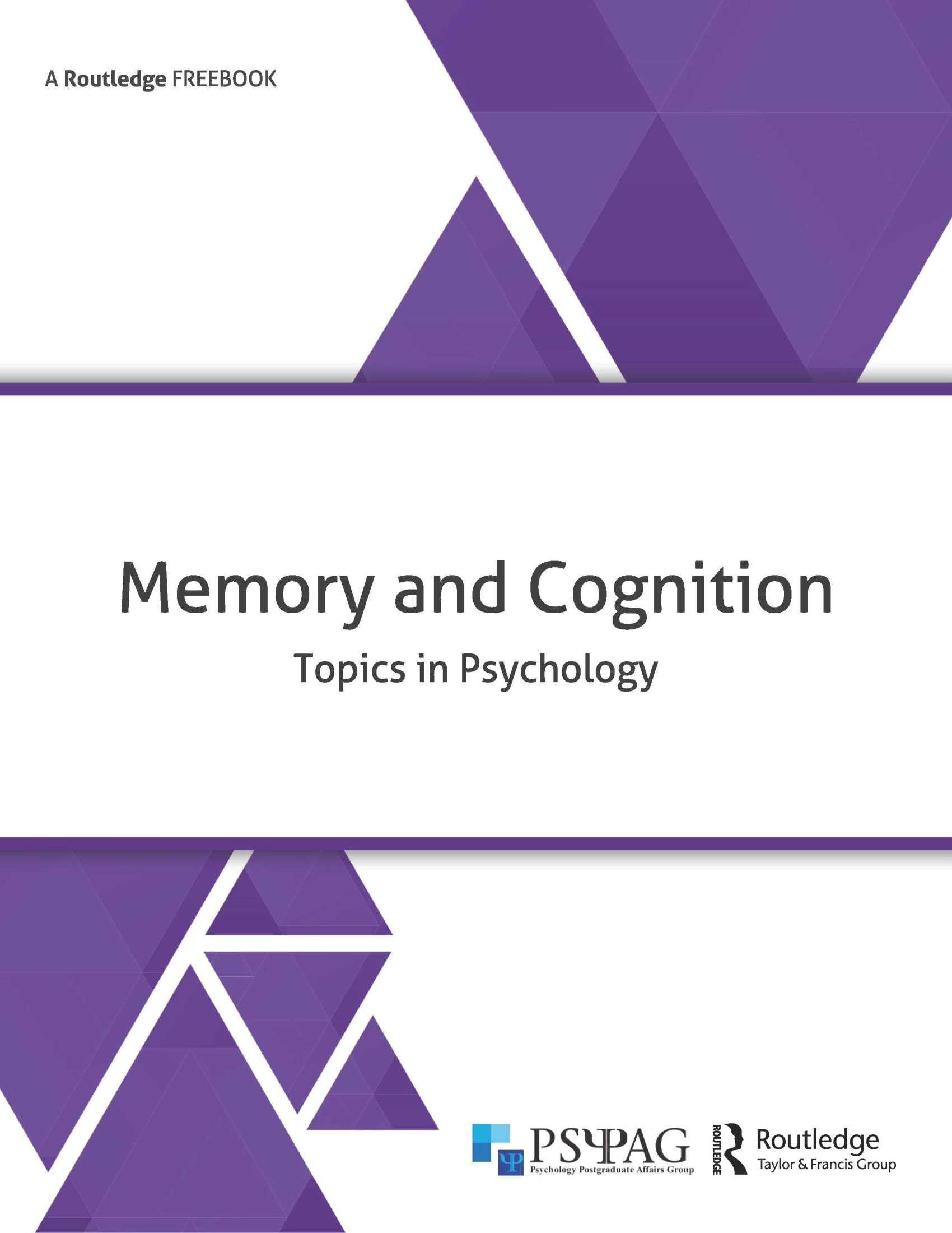 Memory and Cognition FreeBook