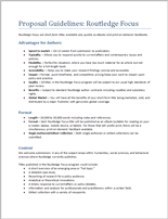 Proposal Guidelines_Routledge Focus PDF Document