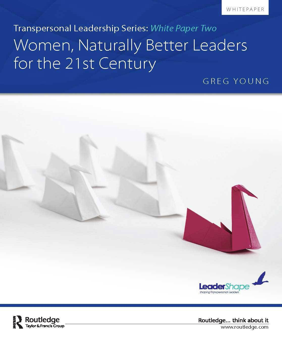 women leadership research papers Short essay on leadership leadership is not a quality but it is an individual's behaviour here you can publish your research papers, essays, letters.