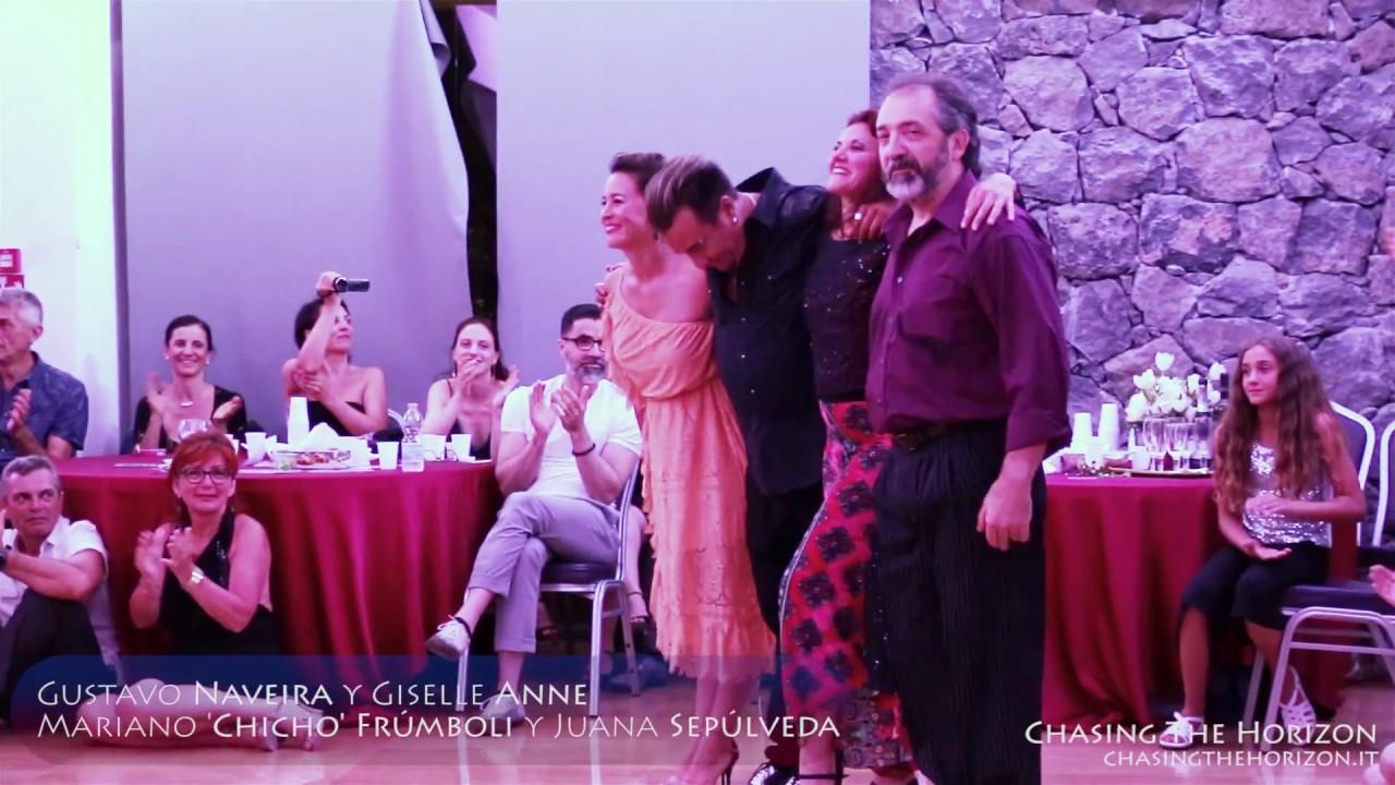 Gustavo Naveira, Gisele Anne y Chicho Frumboli, Juana Sepulveda  — CSTW 2017