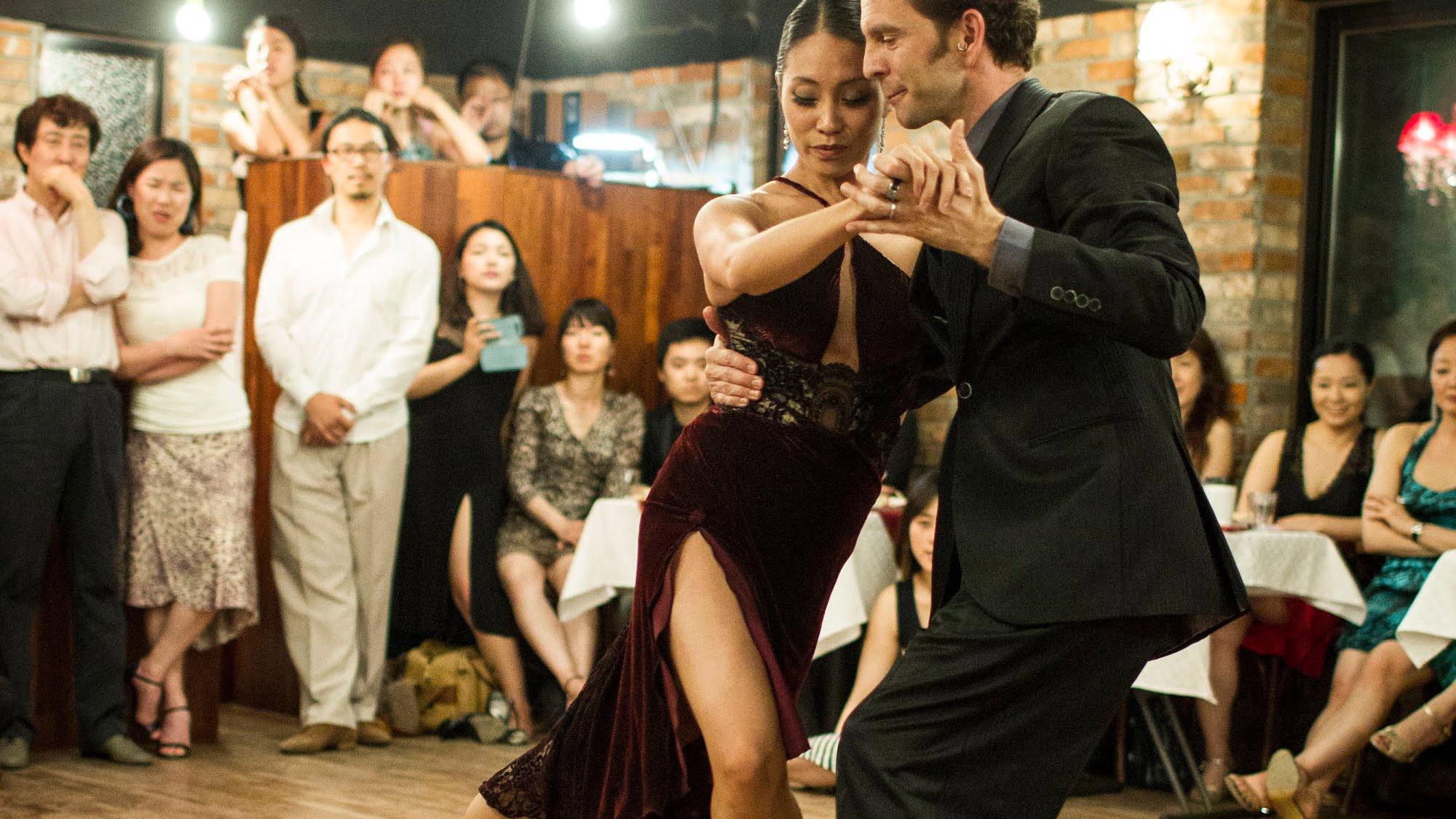 Michelle Marsidi & Joachim Dietiker  — Seoul Festival Tango Liberal 2013