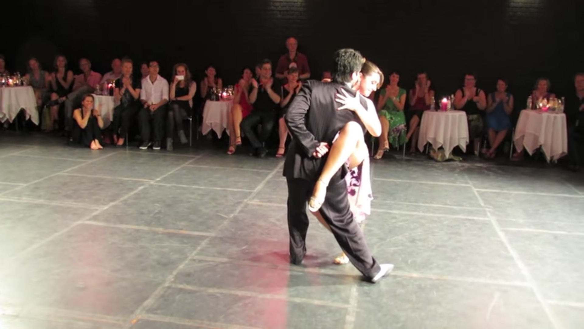 Fernando Sanchez & Ariadna Naveira — Tango Malevaje Festival 2012