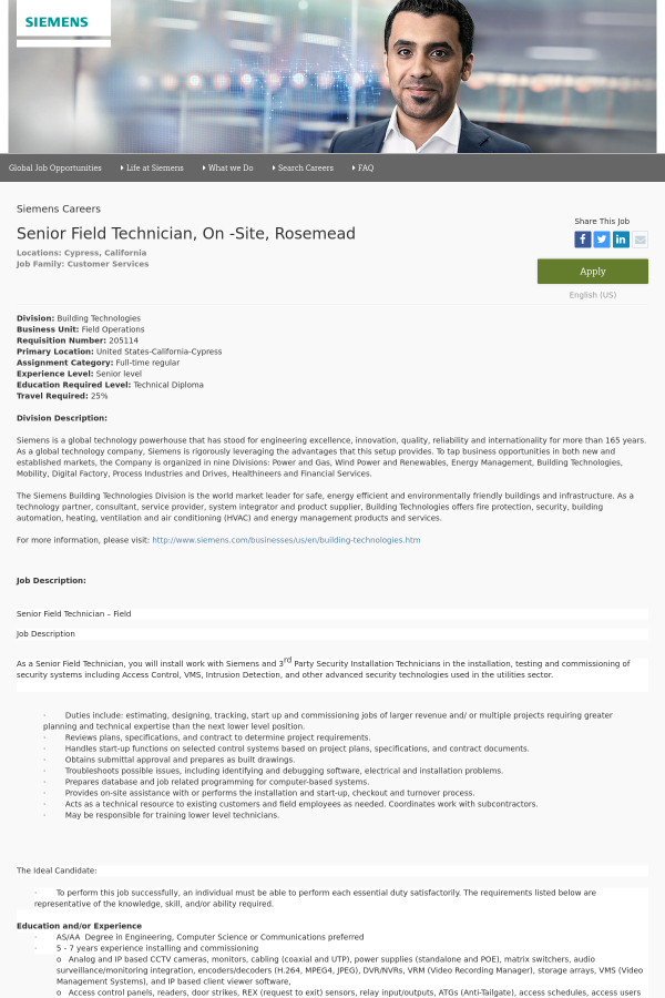 division building technologies. Resume Example. Resume CV Cover Letter