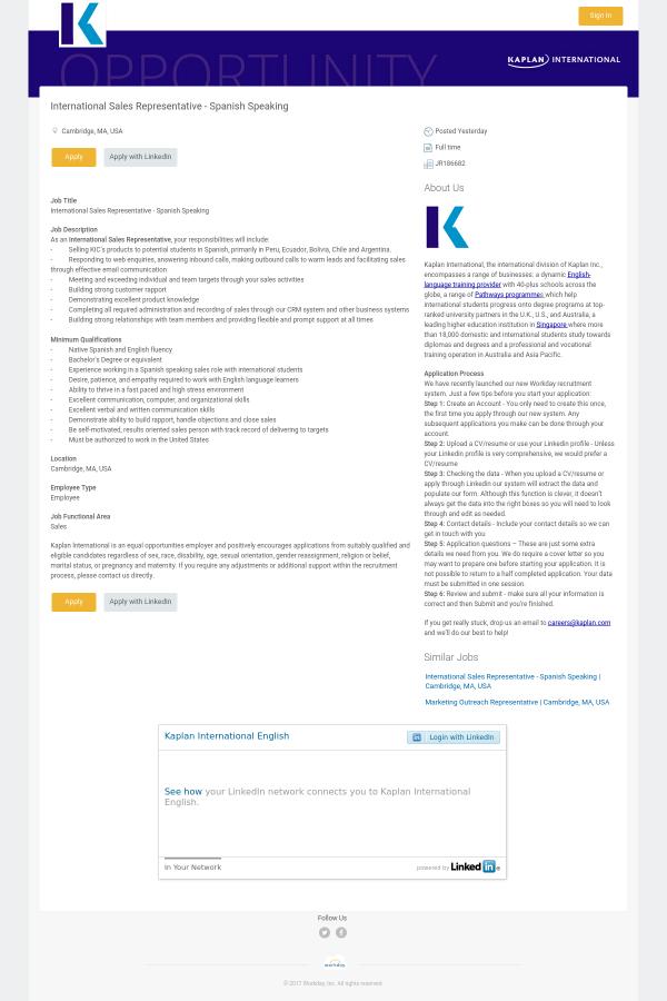 job title international sales representative - International Sales Representative