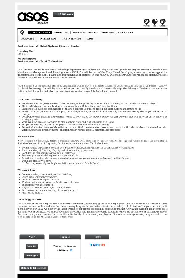 retail business analyst job description perfect resume samples