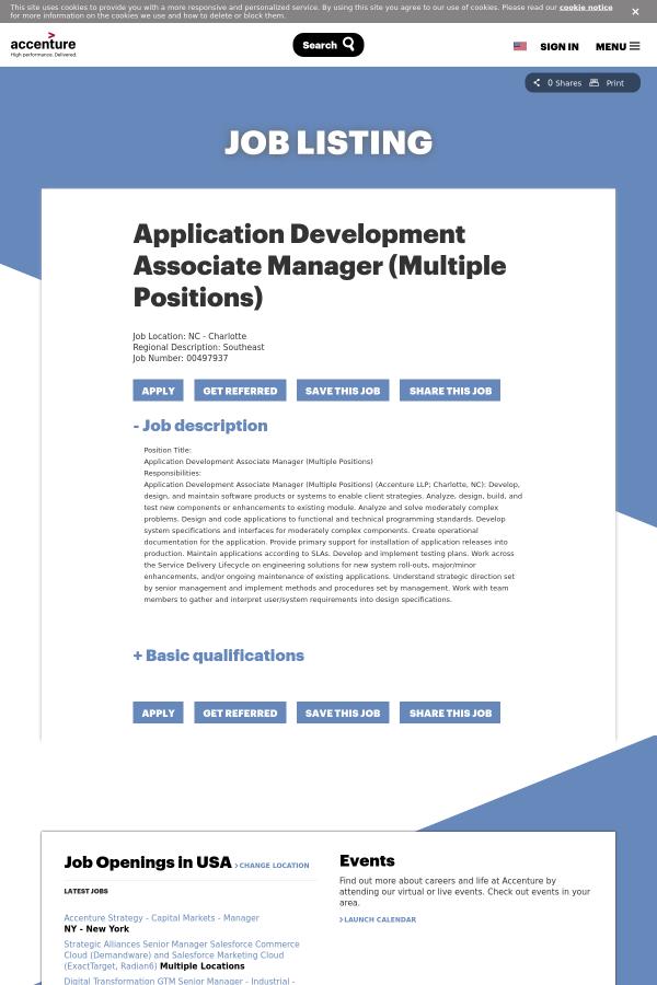 job description position title application development associate manager application development manager job description - Application Development Job Description