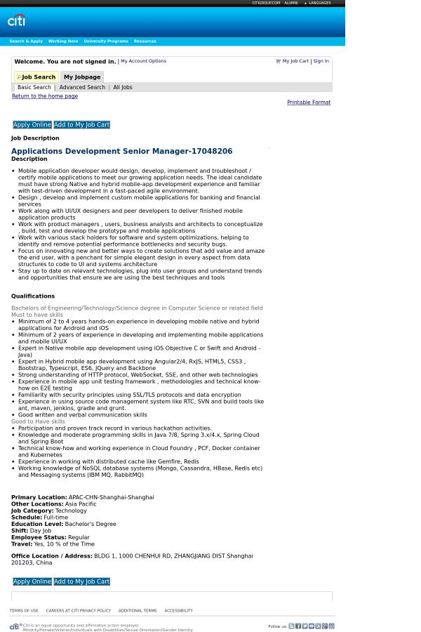 mobile application developer. Resume Example. Resume CV Cover Letter