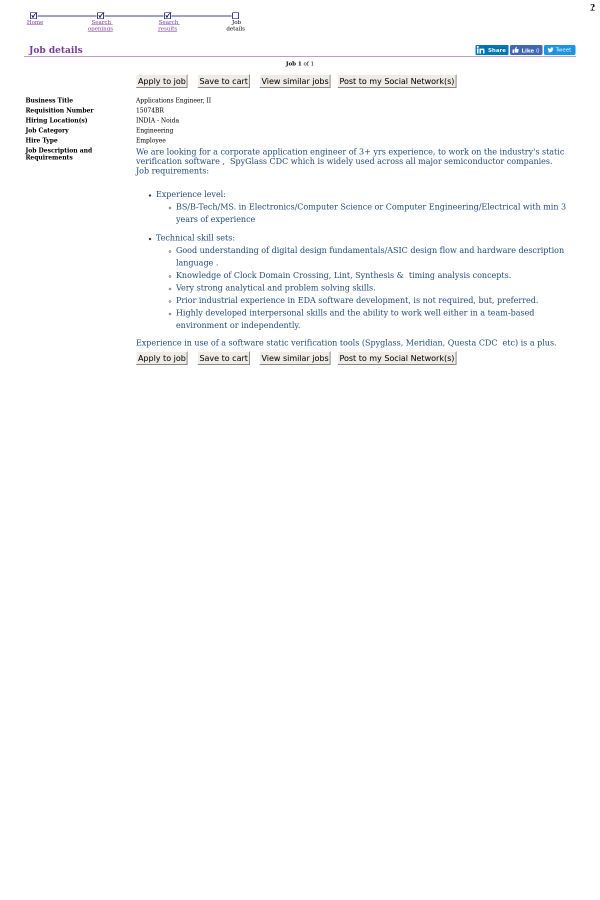 Business Title Applications Engineer ...