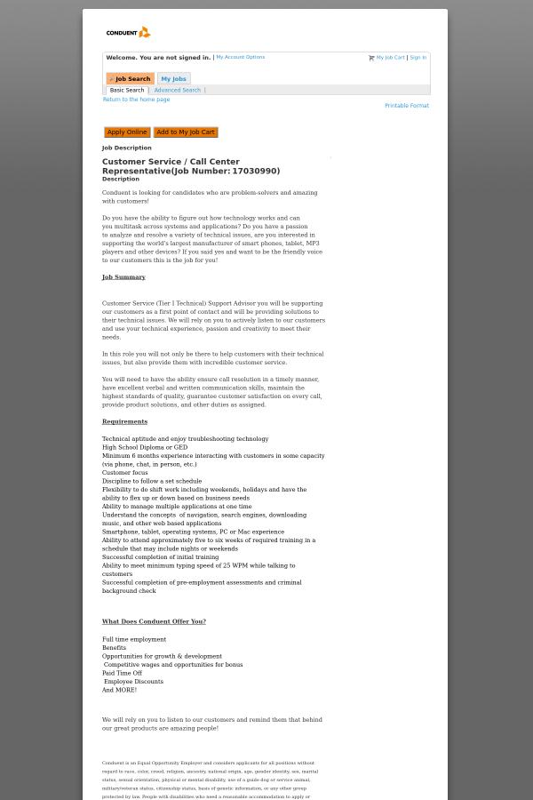 Outstanding Technical Support Job Description Call Center Adornment ...