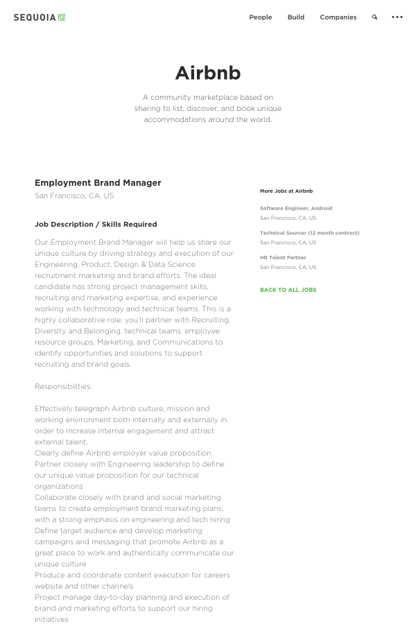 Job Description / Skills Required. Our Employment Brand Manager ...
