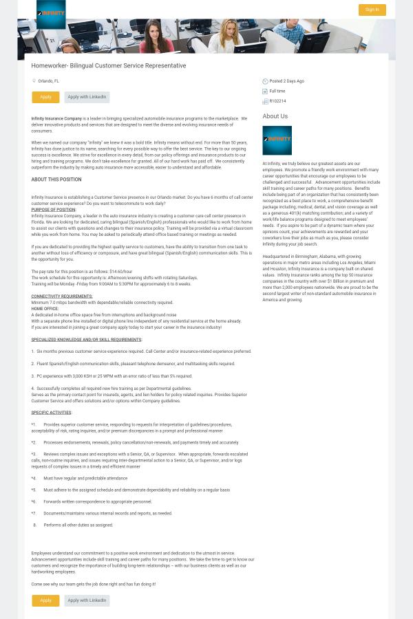 infiniti call service tx infinity customer services spring insurance inc