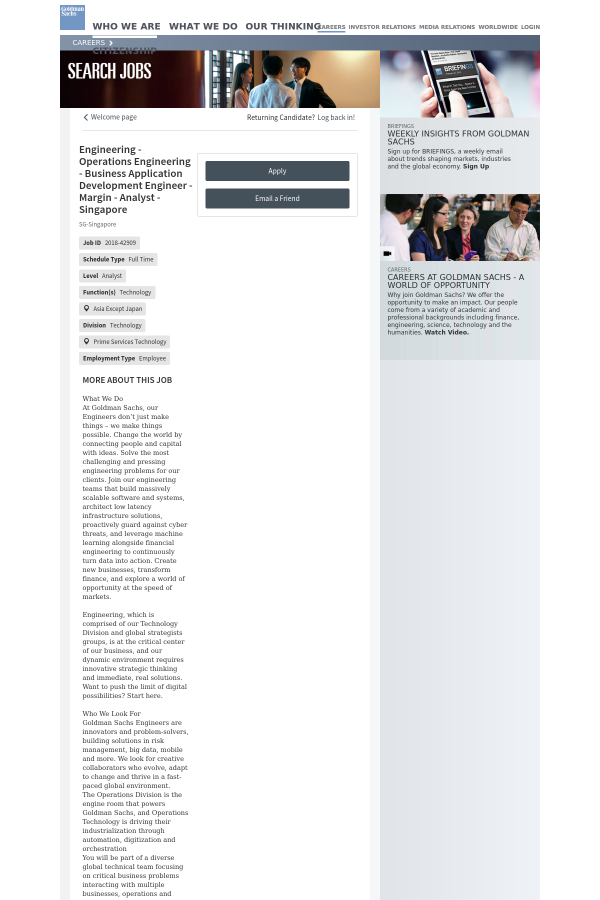 Engineering - Operations Engineering - Business Application ...