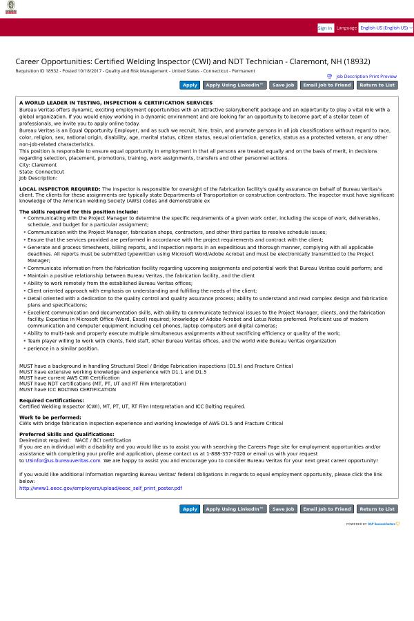 Atractivo Welding Certificate Jobs Modelo - Cómo conseguir mi ...