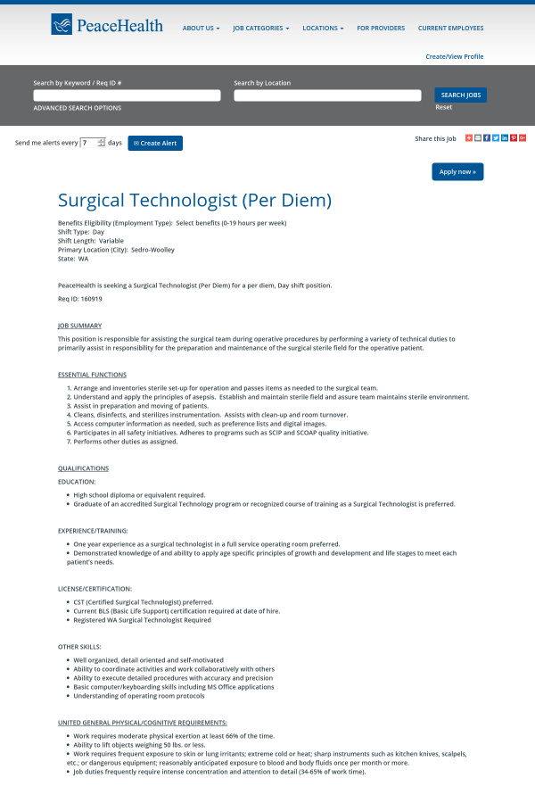 Delightful Surgical Technologist ...