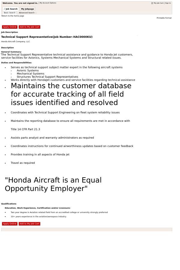 Technical Support Representative job at Honda in Greensboro, NC ...