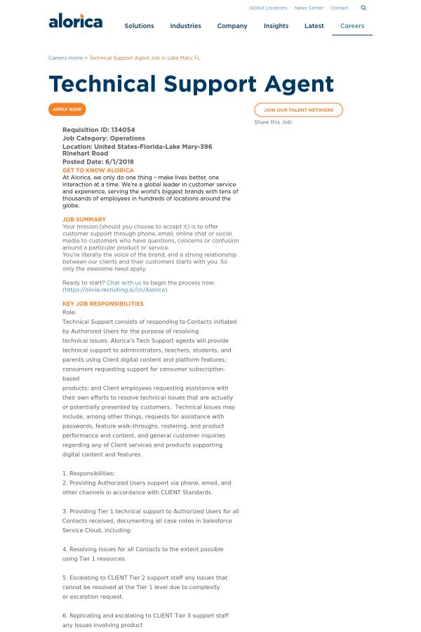 Fancy Tier 2 Technical Support Job Description Elaboration ...