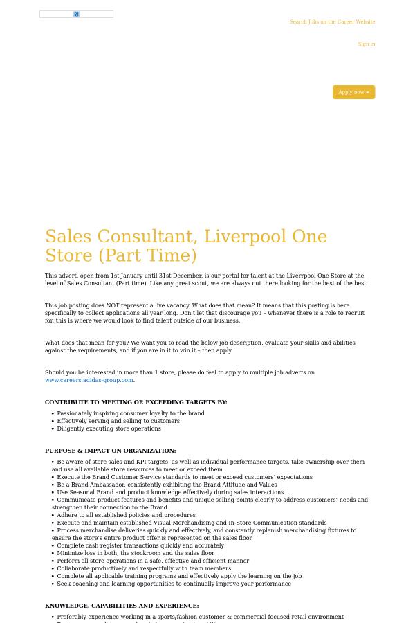 Sales Consultant ...