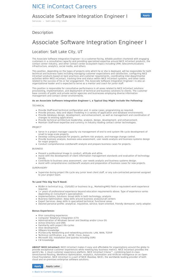 integration engineer cover letter saraheppscom. systems ...