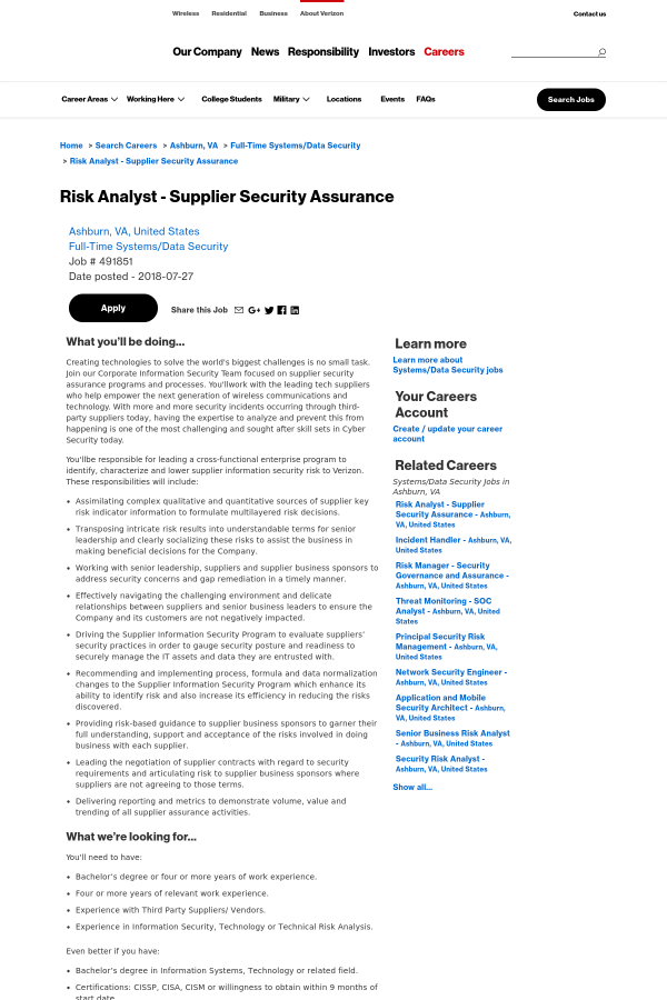 Dating security assurance