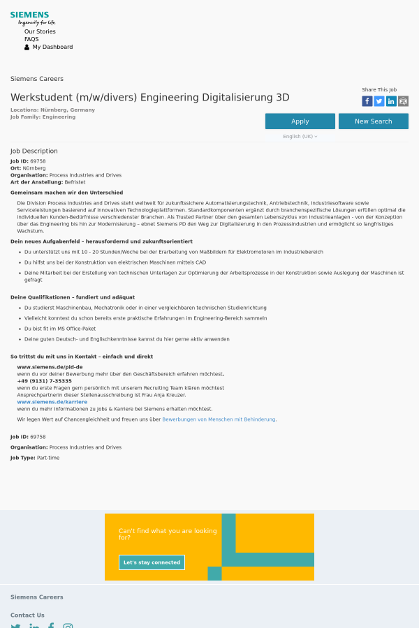 Magnificent Konstruktion Job Description Mold - FORTSETZUNG ...