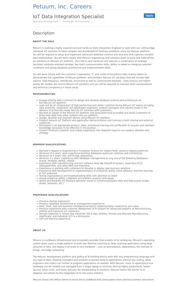 data analyst resume sample fresh integration specialist migration ...