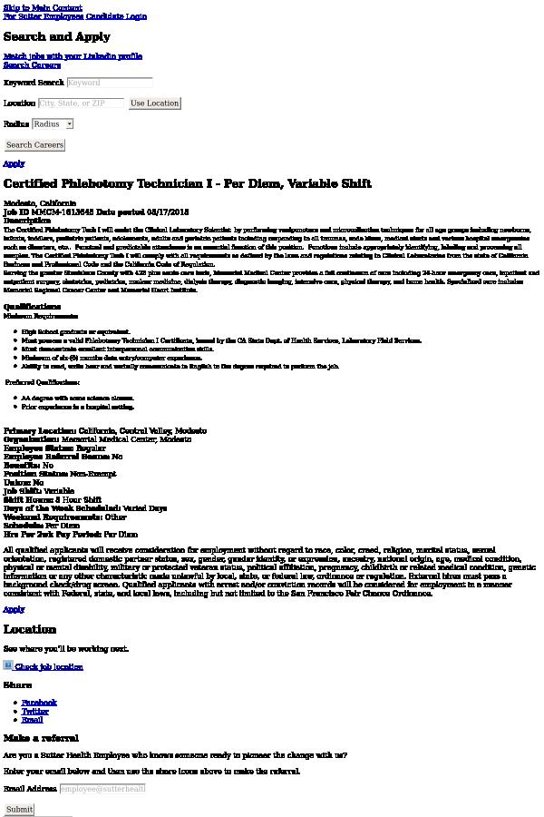Old Fashioned Phlebotomy Certification San Francisco Vignette