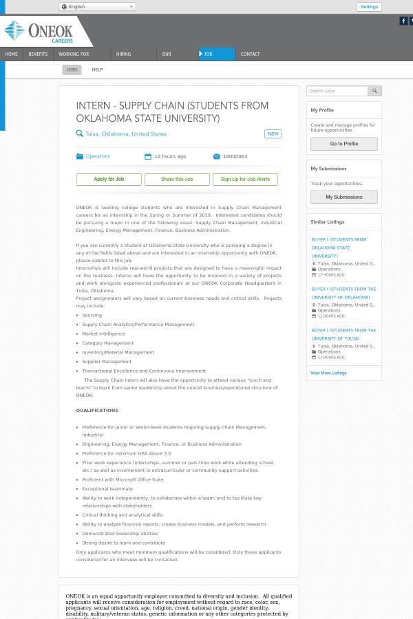 Oklahoma state tulsa jobs