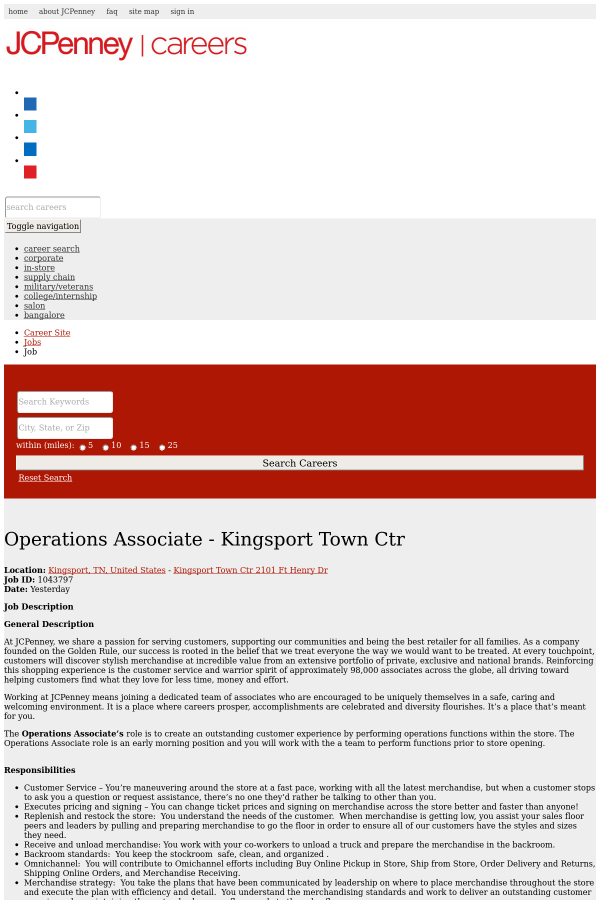city of kingsport tn jobs