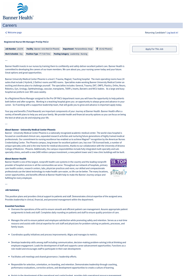 advancement opportunities for nurses