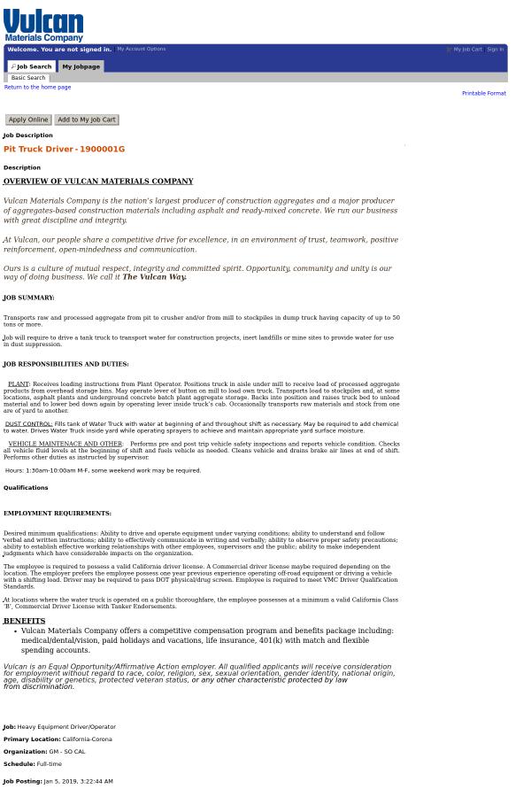 truck driver job description responsibilities