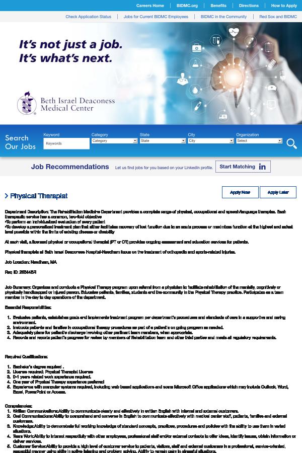 Beth Israel Needham Orthopedics