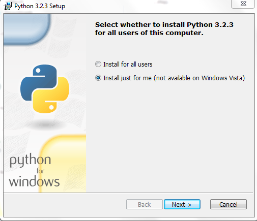 Windows x86 32bit Python