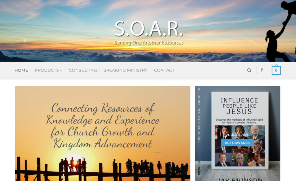 Soar - Ecommerce Web Design