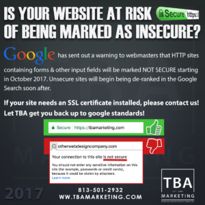 Google warns web designers Chrome will mark HTTP sites Not Secure