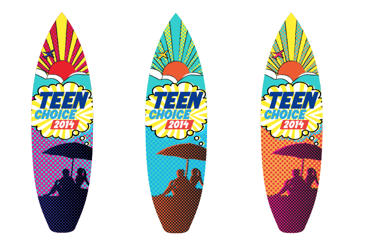 2014 Teen Choice Surfboards
