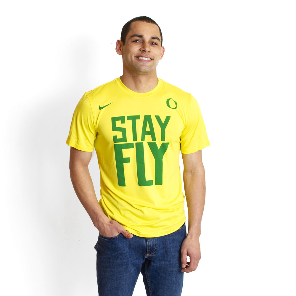 Yellow BCS Legend Stay Fly T-Shirt