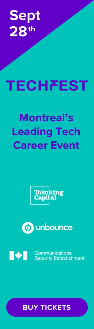 Techfest Montreal - September 28th