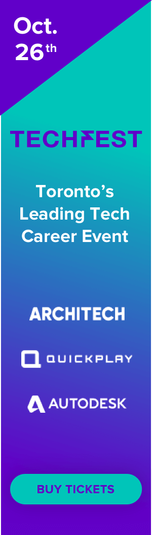 Techfest Toronto - October 26th