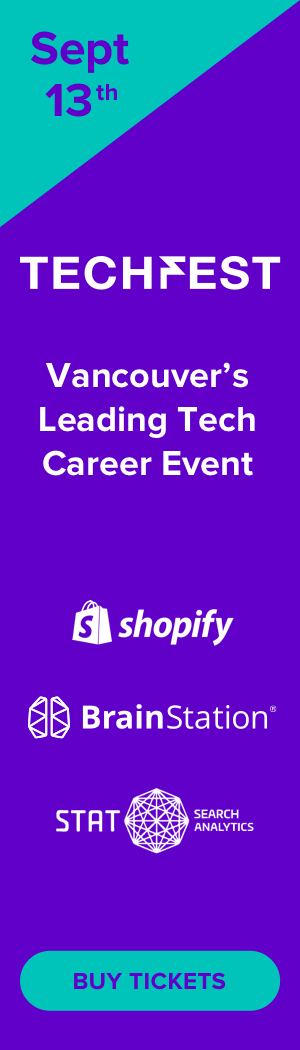 Techfest Vancouver - September 13th