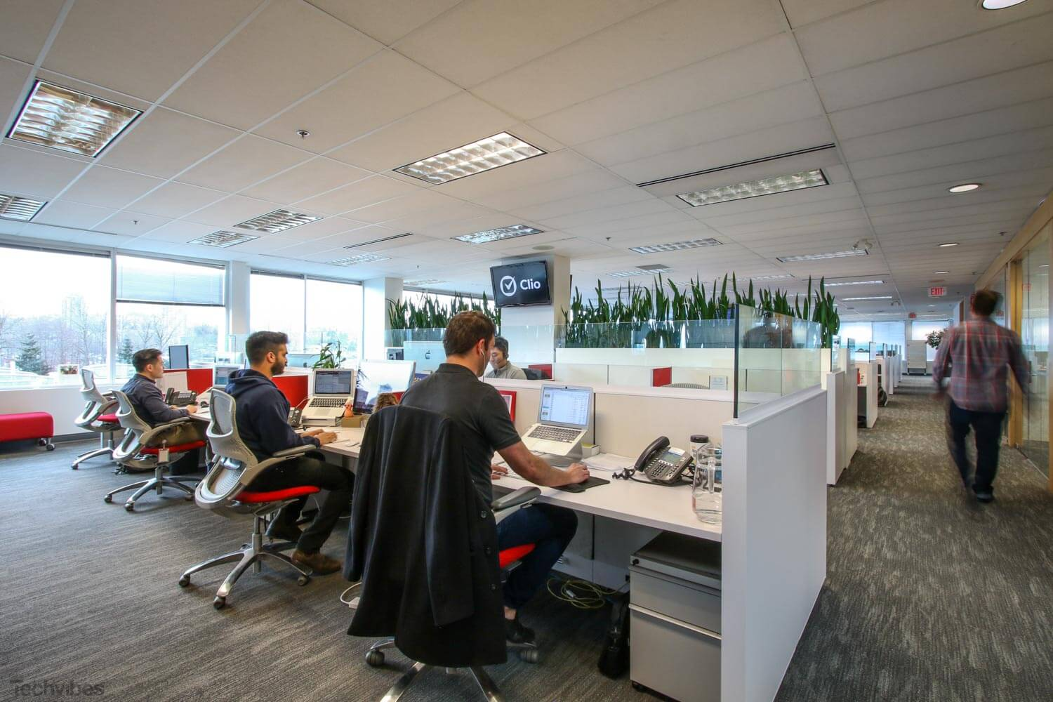 SSDG Interior Designers Worked With Clio To Create The Open Concept Workspace Office Design Won Firm Institute Of BCs Award