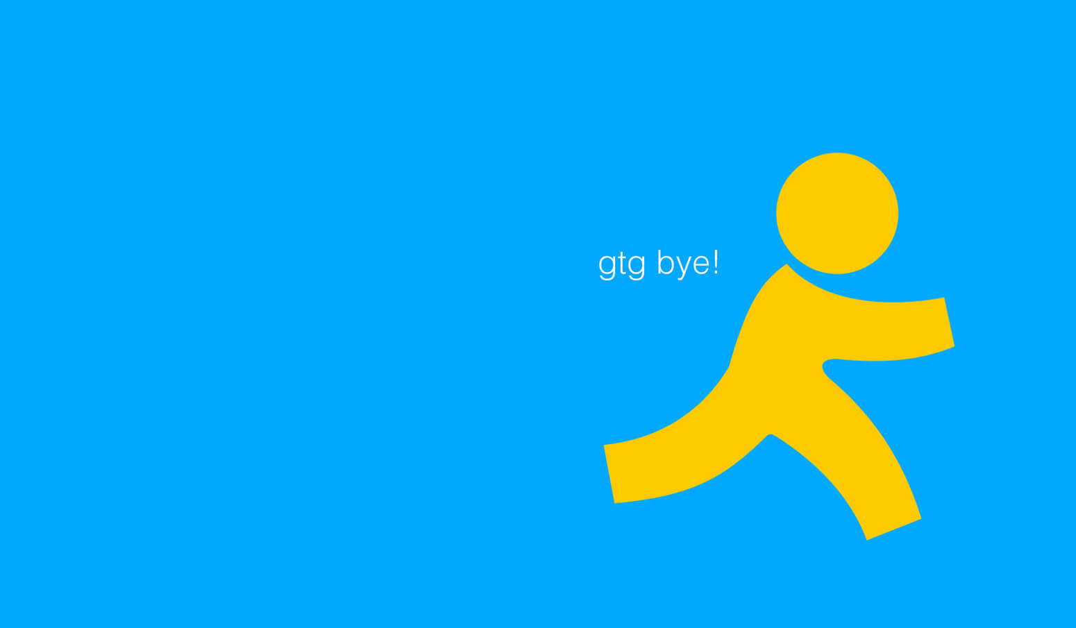 AIM is Logging Off For Good – Techvibes