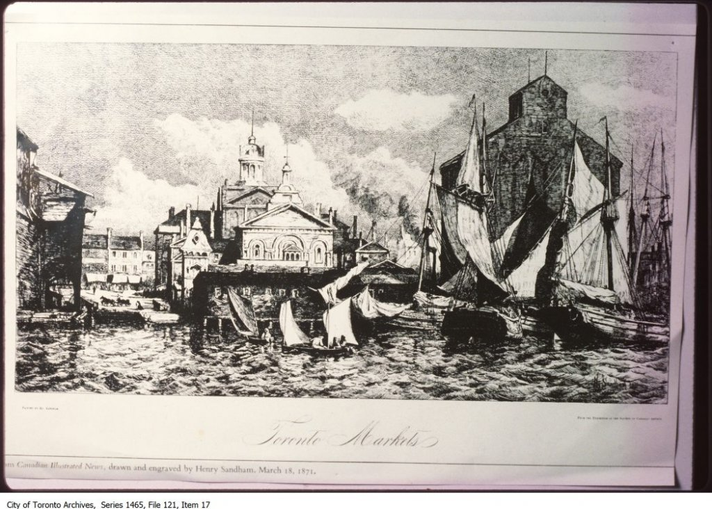 Various drawings and illustrations of Toronto and London, England. - [between 1977 and 1998]