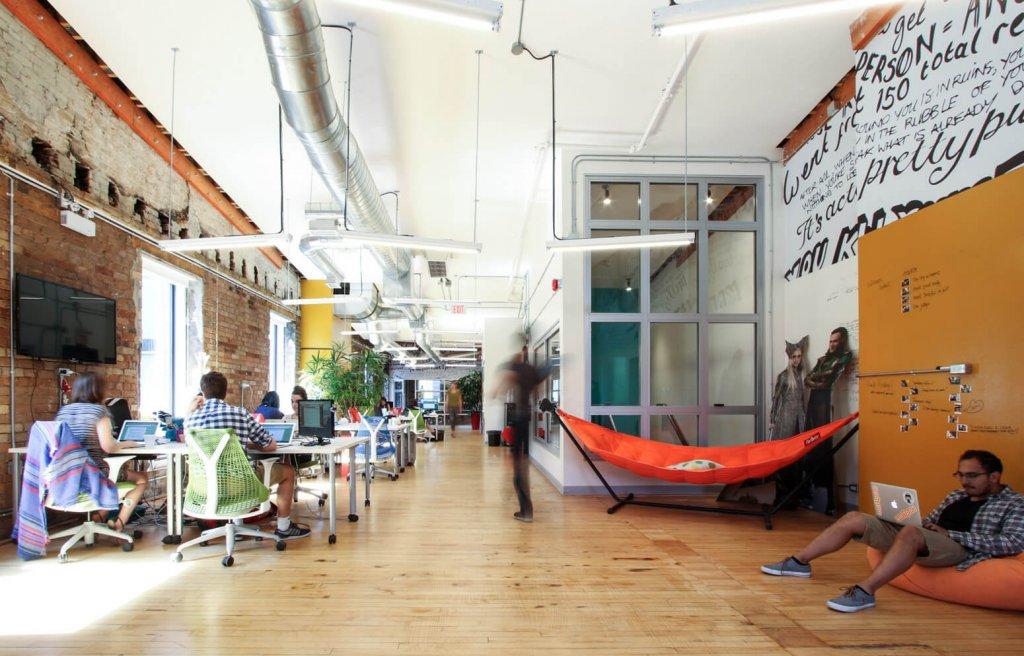 A look inside Wattpad's office.