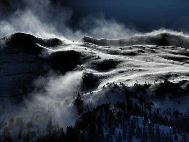 מחר יהיה קר ומגניב. הר גאסטיין, אוסטריה.