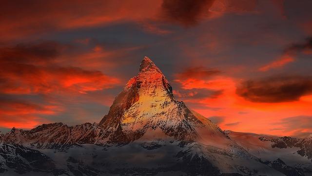 מה עוד צריך לבקש?, הר צרמט, שוויץ.