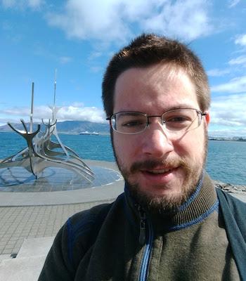 David in Iceland