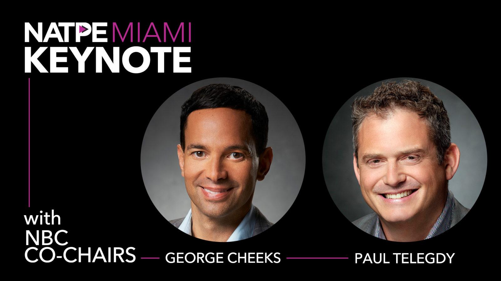 NBC Co-Chairs George Cheeks and Paul Telegdy