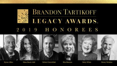 2019 Brandon Tartikoff Leagcy Awards Update 1